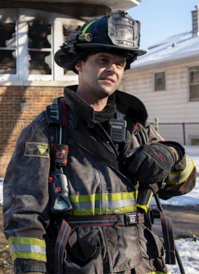 Casey not thrilled - Chicago Fire Season 9 Episode 8