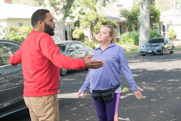 Dre and Janine - black-ish Season 5 Episode 2