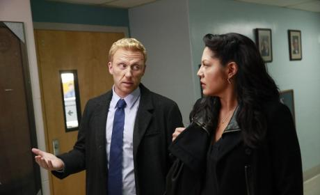 Making a Point to Callie - Grey's Anatomy Season 11 Episode 3