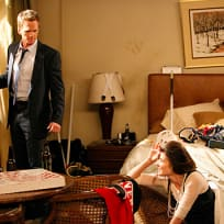 Barney and Robin in a Hotel Room