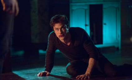 The Vampire Diaries Preview Pics: Will Damon Feed?