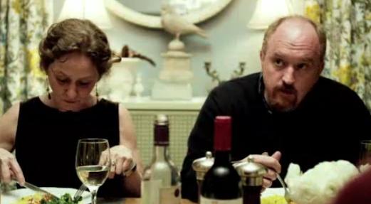 Louie At Dinner