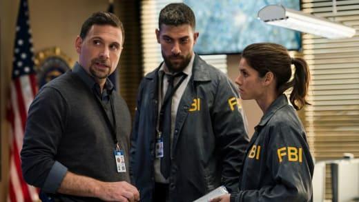 Jubal with OA and Maggie - FBI Season 1 Episode 1