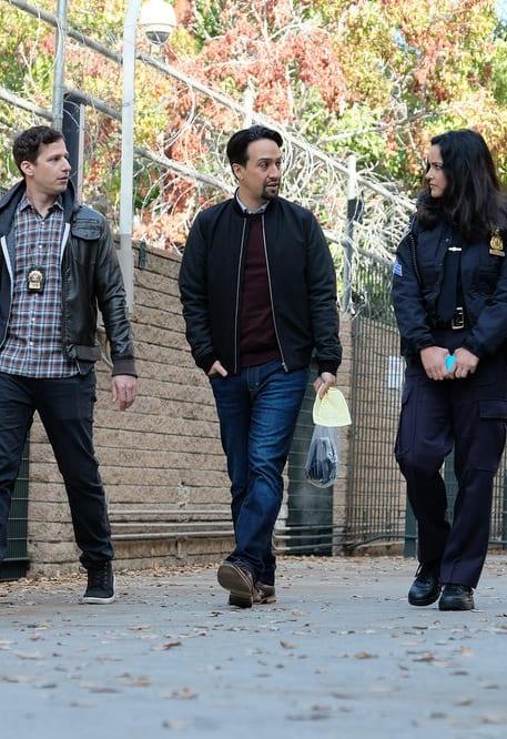Jake, Amy, and David - Brooklyn Nine-Nine Season 6 Episode 9