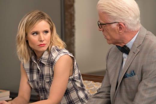 Eleanor talks to Michael - The Good Place Season 2 Episode 5