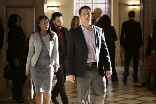 Getting Back to Normal - How to Get Away with Murder