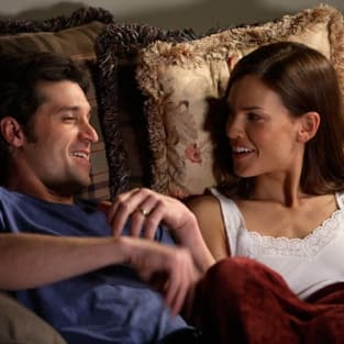 Patrick Dempsey, Hilary Swank in Freedom Writers