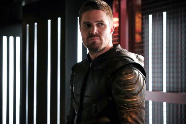 Friends Again? - Arrow Season 6 Episode 12