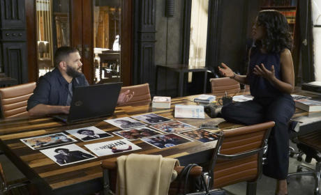 Huck and Olivia Scene - Scandal Season 5 Episode 7
