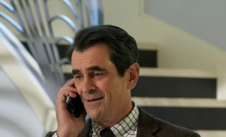 Phil on the Phone - Modern Family Season 10 Episode 14