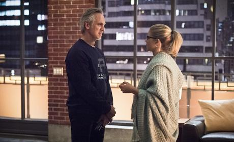 Deep conversation - Arrow Season 4 Episode 22
