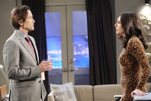 Discovering a Compromising Position - Days of Our Lives