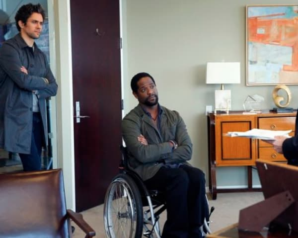 Neal Bledsoe and Blair Underwood Ironside photo
