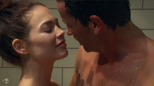 Liz and Franco Shower — General Hospital
