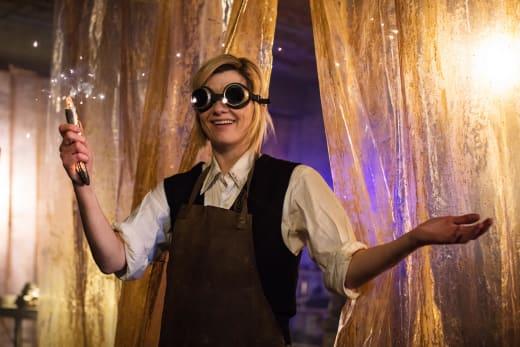 Get ready to shine - Doctor Who Season 11 Episode 1