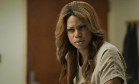 Laverne Cox on Orange is the New Black
