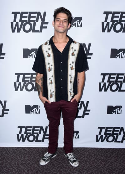 Tyler Posey Smiles