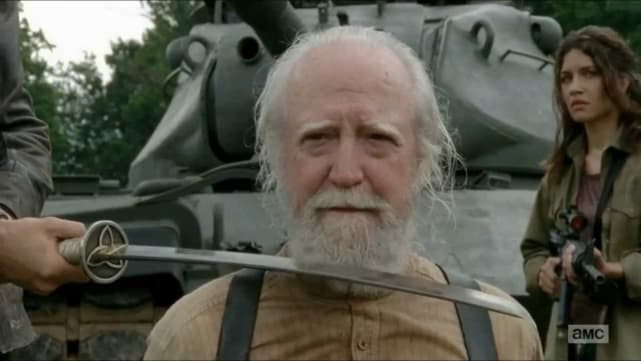 Hershel's Death - The Walking Dead
