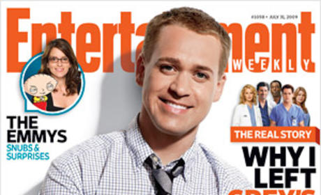 T.R. Knight Entertainment Weekly Cover