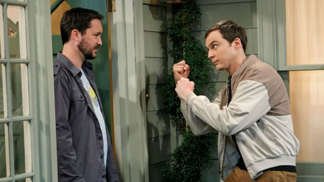Sheldon vs. Wil Wheaton - The Big Bang Theory