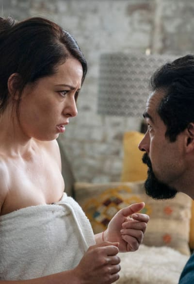 Javier Begs Emilia - Queen of the South Season 4 Episode 8