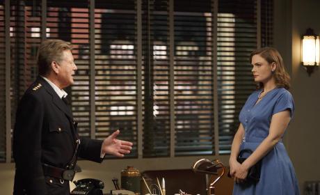 Ryan O'Neal Guest Stars - Bones Season 10 Episode 10