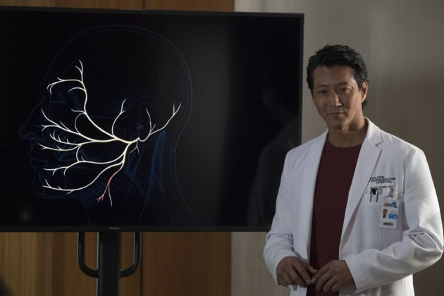 Will Yun Lee on The Good Doctor