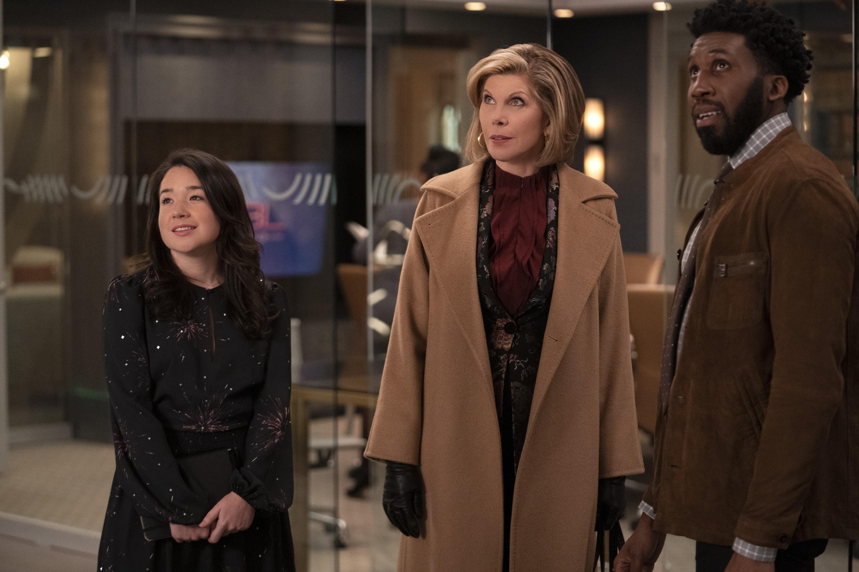 Diane, Marissa, Jay - The Good Fight Season 4 Episode 2 - TV Fanatic