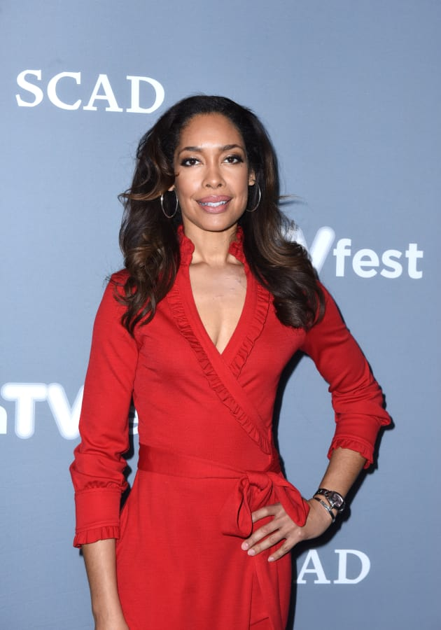 Gina Torres Promotes The Catch