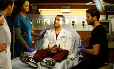 Doctor Becomes the Patient - Chicago Med
