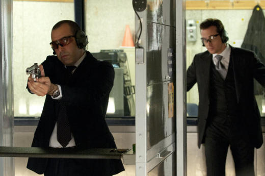 Louis with a Gun