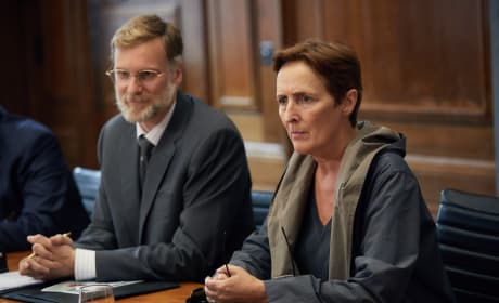 Fiona Shaw Takes Command - Killing Eve Season 1 Episode 1