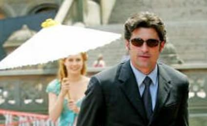 Patrick Dempsey, Daughter On the Set