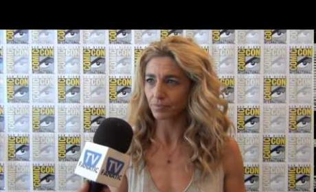 Claudia Black Previews Containment