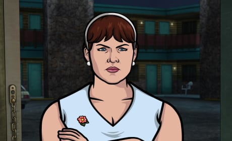 Allison Tolman on Archer