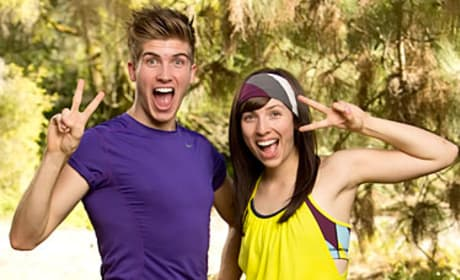 Joey Graceffa and Meghan Caramena