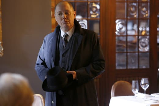 Red approves - The Blacklist Season 4 Episode 12