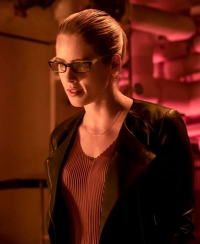 Dark Felicity  - Arrow Season 7 Episode 4