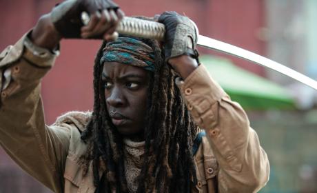 Michonne Poster - The Walking Dead