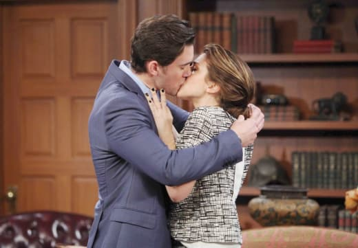 Abigail Comforts Chad - Days of Our Lives