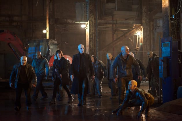 Humankind's Final Stand - The Strain