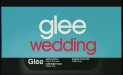 Glee Sneak Preview: Wedding Ahead!