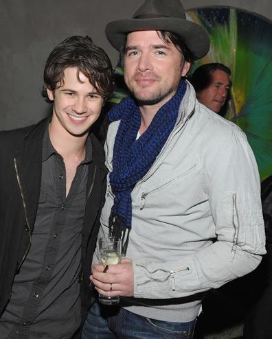 Matthew Settle and Connor Paolo