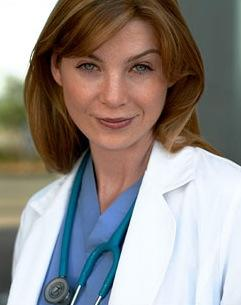Meredith has nice eyes