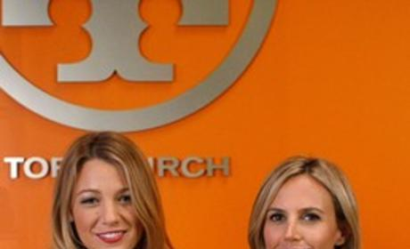 Blake Lively and Tory Burch