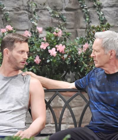 (TALL) John Supports Brady - Days of Our Lives