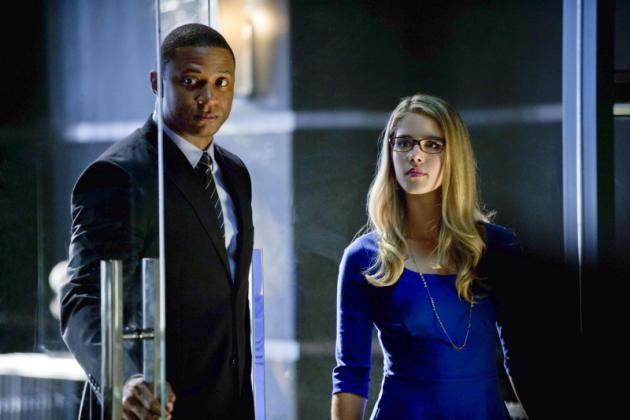 Diggle and Ms. Smoak