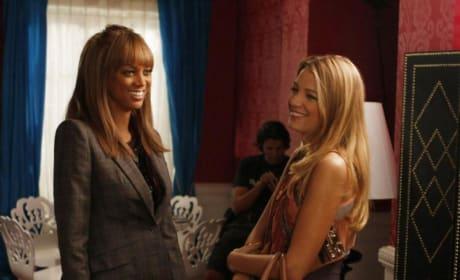 Tyra and Serena