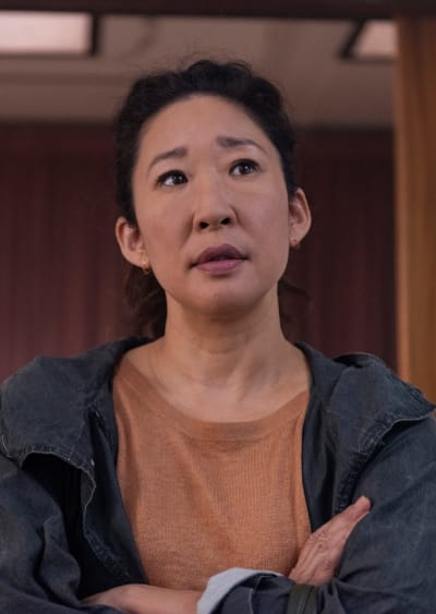 Anxious and Distraught - Killing Eve Season 2 Episode 1