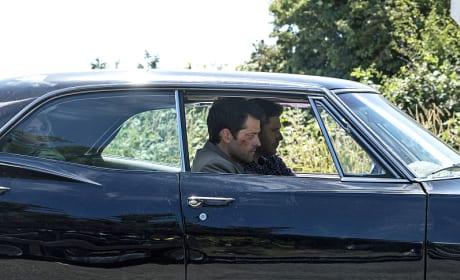 Cas on the Job - Supernatural Season 12 Episode 1